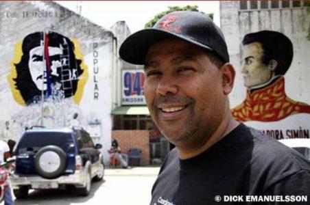 Venezuela. Una esperanza popular y revolucionaria: Juan Contreras en campaña para ser Alcalde chavista en Caracas