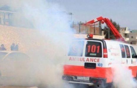 Palestina. Unos 320 palestinos heridos entre ellos dos periodistas y dos ambulancias fueron atacadas en represión militar israelí en Beita
