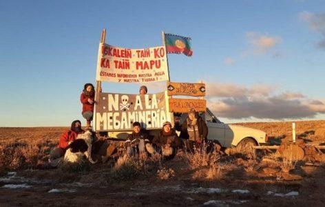 Nación Mapuche. Villegas, la Fronteriza e Ivael Mining: cierre de tranqueras para defender territorio