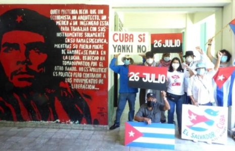 El Salvador. Recuerdan el Asalto al Moncada y se solidarizan con la Revolución cubana