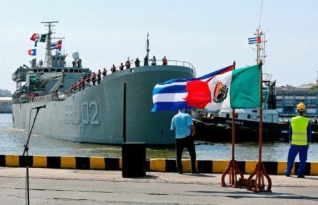Cuba. Recibió un nuevo cargamento de ayuda humanitaria de México