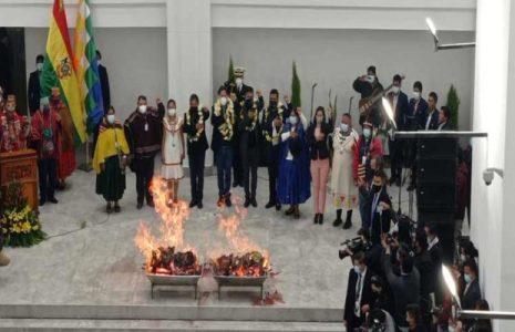 Bolivia. Presidente inauguró nueva sede de la Asamblea Legislativa