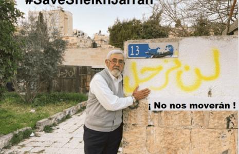 Palestina. Gracias a la resistencia, la ocupación pospone el desalojo de las casas de las familias en Sheikh Jarrah en Jerusalén ocupada
