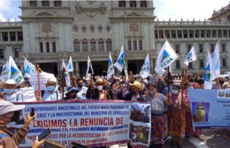 Guatemala. Continúan las protestas contra el presidente Alejandro Giammattei