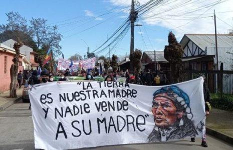 Nación Mapuche. «¡Agua para los pueblos!»: Masiva movilización en defensa del río Biobío recorrió Santa Bárbara y Quilaco