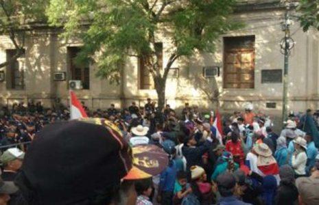 Paraguay. Campesinxs anuncian nuevas protestas en demanda de fondos