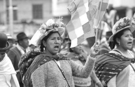Bolivia. Criminalización del movimiento feminista