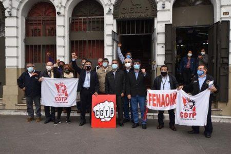 Perú.  CGTP presentó agenda laboral al Ministro de Trabajo