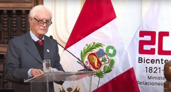 Perú. Excanciller: quieren impedir una política exterior soberana