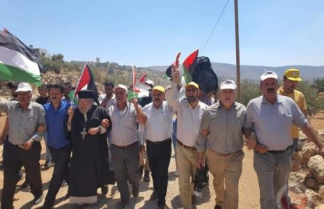 Palestina. Militares sionistas reprimen protestas en Beit Dajan y Kafr Qaddoum en Cisjordania ocupada