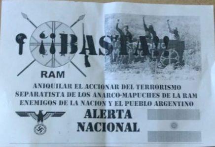 Nación Mapuche. Panfleteada racista en Viedma y reunión del Comando Unificado en Bariloche