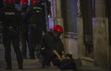Euskal Herria. Continúa la criminalización de la juventud por parte de la policía: 62 detenidos en un fin de semana