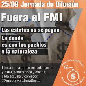 Argentina. ¡Fuera el FMI! Las estafas no se pagan