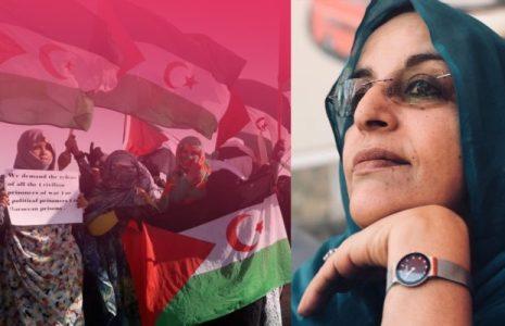 Sáhara Occidental. Fatma Mohamed Salem pide apoyo internacional para que se resuelva el conflicto en paz