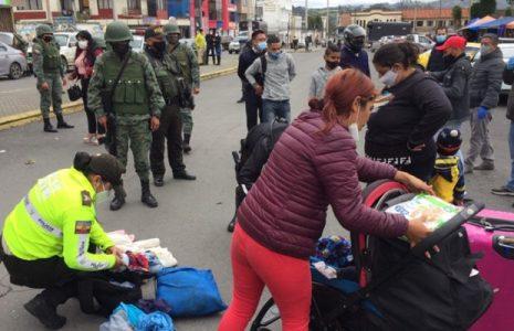 Ecuador. Tulcán, la ciudad donde los migrantes no pueden descansar