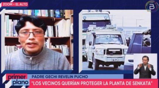 Bolivia. Párroco afirma que vecinos de El Alto nunca planificaron atentado contra planta engarrafadora de Senkata en 2019