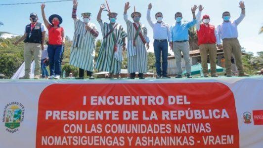 Perú. Castillo en Satipo: la agenda indígena