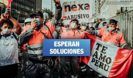 Perú. Trabajadores mineros de Pasco llegan a Lima para defender sus derechos laborales