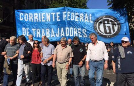 Argentina. Declaración de la Corriente Federal de Trabajadores de cara a la próxima compulsa electoral