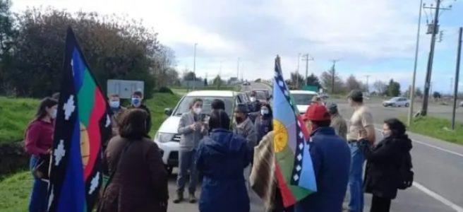 Nación Mapuche. Comunidades se manifiestan contra proyectos eólicos que pretenden instalarse entre Paillaco y La Unión