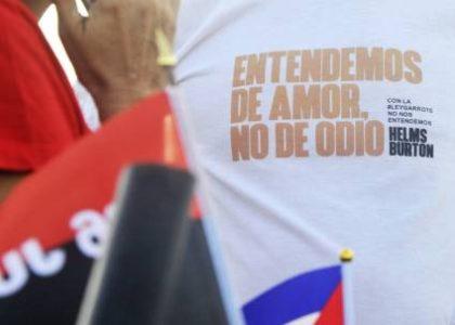 Cuba. Solidaridad para denunciar el terrorismo y el bloqueo
