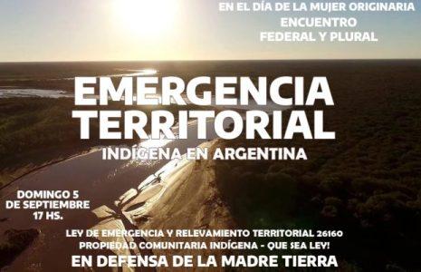 Pueblos Originarios. Encuentro Federal y Plural: Emergencia Territorial Indígena en Argentina