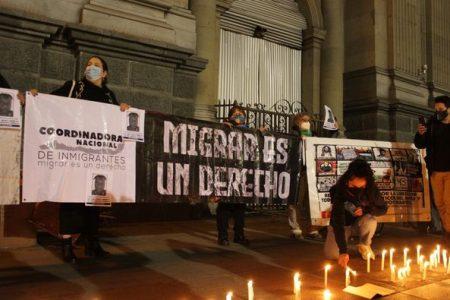 Chile. Recordaron en una concentración a un inmigrante haitiano asesinado