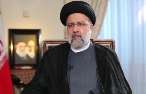 Iran. Raisi: No daremos un paso atrás en los intereses de la nación iraní