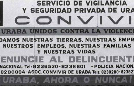 Colombia. «Frentes de Seguridad» anunciados por Min Defensa tienen características similares al paramilitarismo