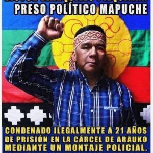 Nación Mapuche. Declaración Pública de los PPM de la cárcel de Lebu frente a la situación de salud de Víctor LLanquileo