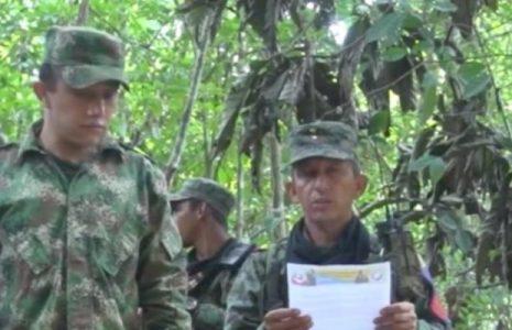 Colombia.  FARC-EP desvirtúa a Zapateiro, coronel Pedro Pérez sigue con vida