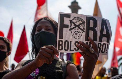 Brasil. El hartazgo de tener a Bolsonaro volvió a mostrarse en grandes marchas y actos de protesta