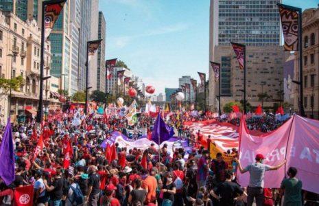 Brasil. 7 de septiembre en São Paulo: «Salí a la calle porque el fascismo está ahí»