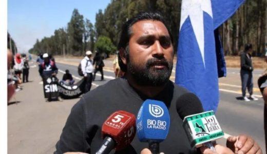 """Nación Mapuche. Rodrigo Curipán: """"No vamos a permitir que relleno sanitario funcione"""""""