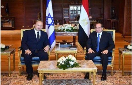 Palestina. Eventual diálogo palestino-israelí centra visita de Bennett a Egipto