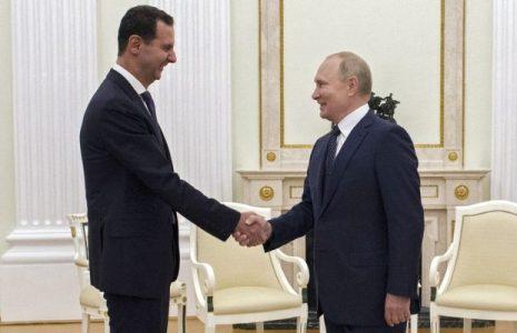 Rusia. Putin, con Al-Asad, critica presencia de tropas foráneas en Siria