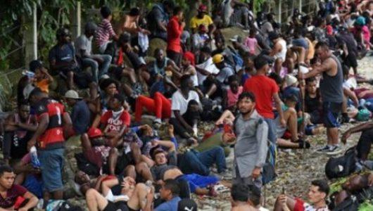 México. Migrantes varados en Tapachula inician huelga de hambre para lograr libre tránsito a EEUU
