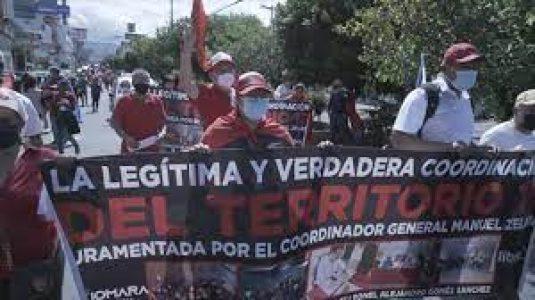 Honduras. Exigen verdadera independencia