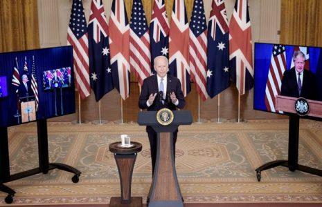 Internacional. Estados Unidos, Australia y el Reino Unido firmaron un acuerdo militar para contrarrestar el poderío de China
