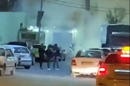 Palestina. Soldados de ocupación arrojan botes de gas lacrimógeno en una boda en Hebrón