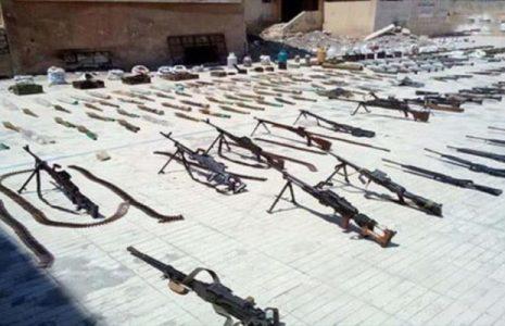 Siria. Cientos de terroristas deponen armas en la ciudad de Tafas