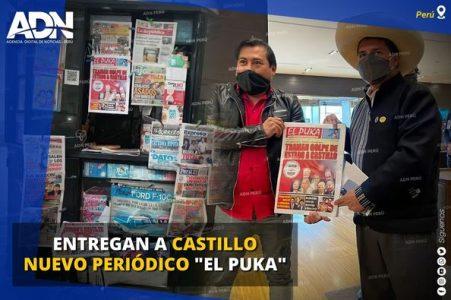 Perú. Apareció «El Puka», un nuevo periódico para contrarrestar al terrorismo mediático derechista