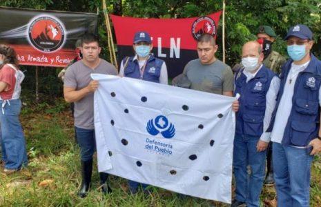 Colombia. Así fue la liberación de dos soldados en Arauca por parte del ELN