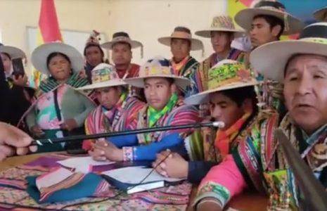 Bolivia. Norte Potosí no da su respaldo a la marcha indígena, como señaló Página Siete
