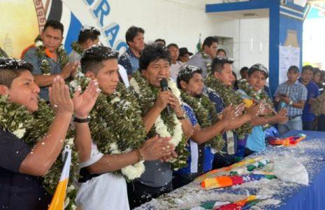 Bolivia. Evo Morales es ratificado como Presidente de la Coordinadora de la Seis Federaciones del Trópico de Cochabamba
