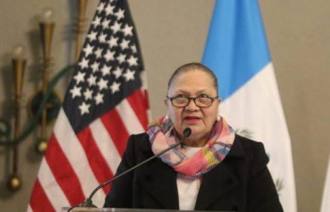 Guatemala. Consuelo Porras en lista de actores corruptos y antidemocráticos