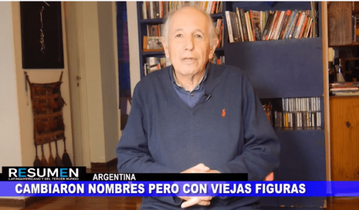 Resumen Latinoamericano tv: Argentina, Un nuevo gabinete con viejas caras