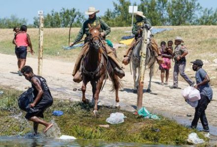 Migrantes. Kamala Harris: «Trato a los haitianos evoca tiempos de esclavitud»