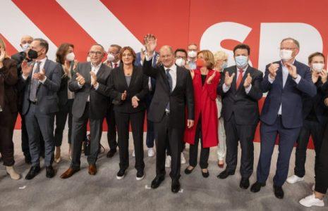 Alemania. Los socialdemócratas fueron los más votados en las elecciones  y tendrán la prioridad para formar gobierno