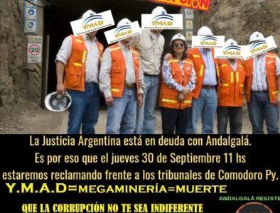 Argentina. Andalgalá: 5 mujeres imputadas por defender el agua y suman 17 los judicializados por oponerse a la megaminería